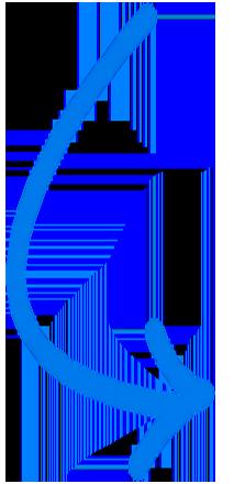 pfeil-gebogen-lang-blau zeigt auf Screen AMS Archiv