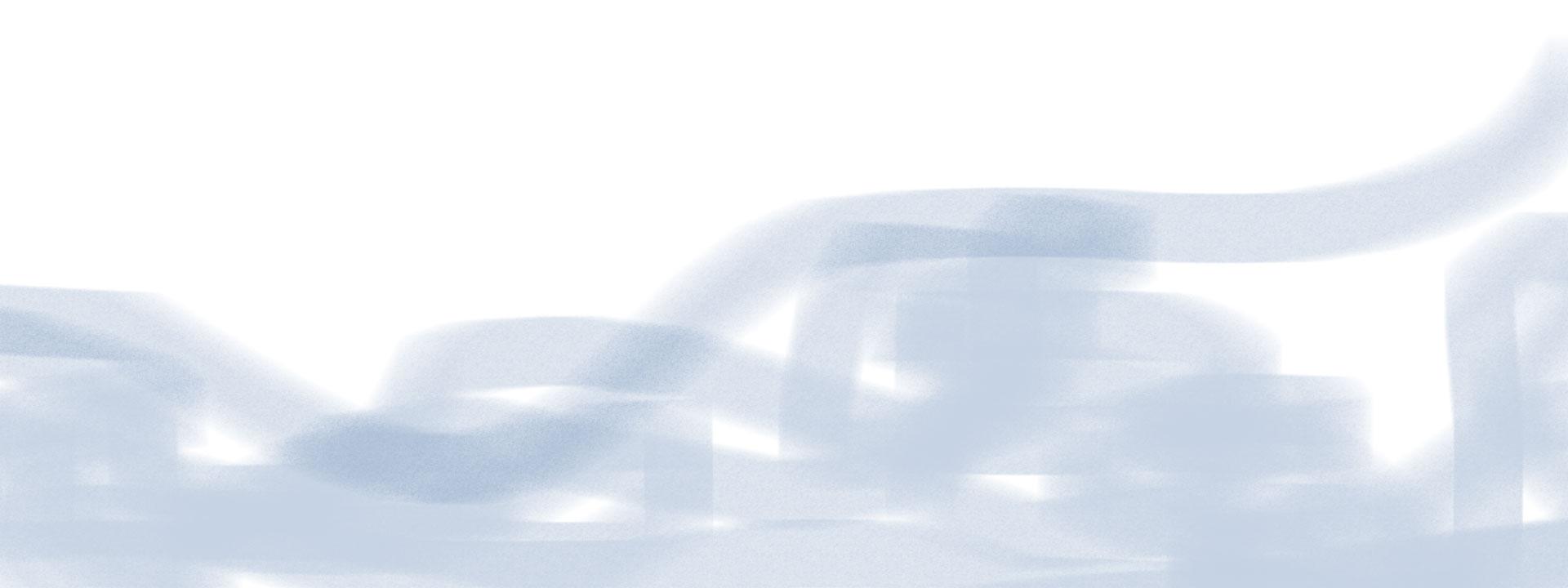 weiße Fläche mit blauen Pinselstrichen, zeigt Workflow der Softwarelösungen an