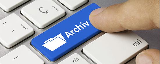 Diverse Medien die Artikel aus Fachpresse abbilden über AMS Archiv Software